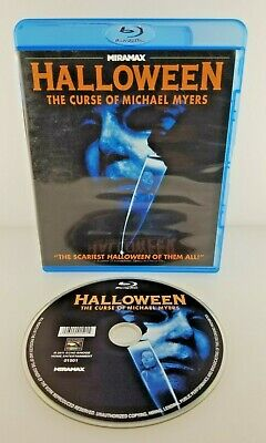 Halloween 6: The Curse of Michael Myers (Blu-ray Disc, 2011) Fast Free Shipping