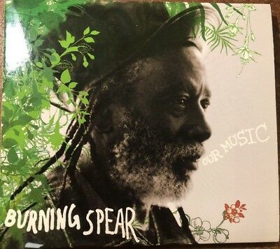 Our Music [Limited] by Burning Spear (CD, Sep-2005, Burning Music) Dvd/cd Dual
