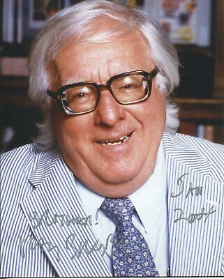 Ray Bradbury Fahrenheit 451 Author Rare Signed Original Autograph Press Photo