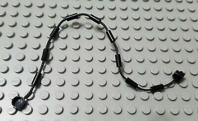 Lego Lot Of 5 Black Climbing Strings Rope Pieces