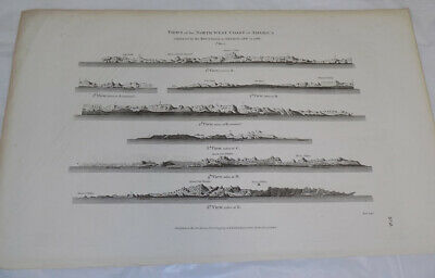 Two 1798 Antique Maps///VIEWS OF THE NORTH WEST COAST OF AMERICA