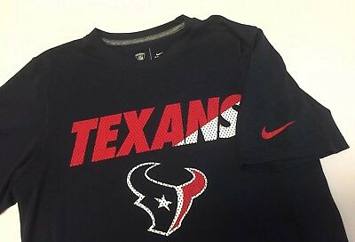 Mens Nike Dri-Fit Houston Texans Football Shirt Size Adult Small 100%  Polyester 274f55c9e