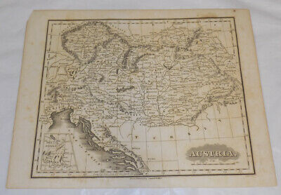 c1834 Antique Map///AUSTRIA