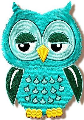 Owls And More Owls 20  Machine Embroidery Designs 2 Sizes