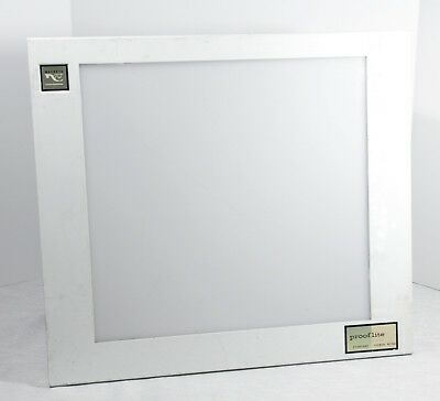 "MACBETH 15"" x 16"" Prooflite LIGHT TABLE VIEWER D5000 PLT516 60w color correct"