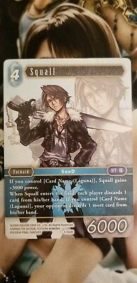 Final Fantasy TCG (FFTCG) Squall 1-042R Wave 1 - Very Rare (Non-Foil)