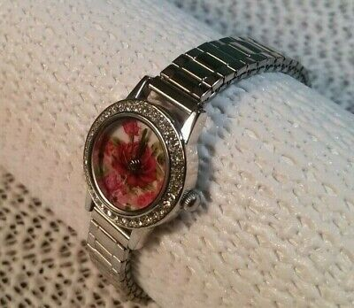 Victorian Trading Co Beautiful Floral Watch