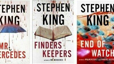 Stephen King - BILL HODGES Trilogy Collection Set eBooks 1-3 (ebooks)