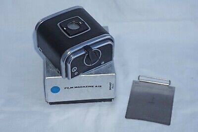 Hasselblad A12 Film Back,boxed