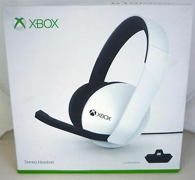 FAULTY MIC - Microsoft Xbox One Official Wired Stereo Headset - White