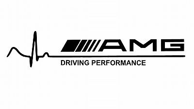 Mercedes Amg, Driving Performance, Vinyl Decal Sticker Graphic