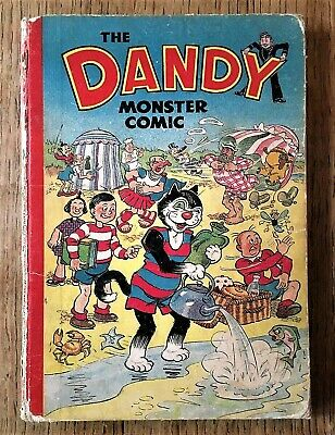 DANDY MONSTER COMIC 1950 Book D.C.Thomson Annual (1949)