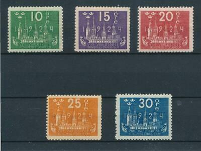 [31044] Sweden 1924 Good lot Very Fine MH stamps