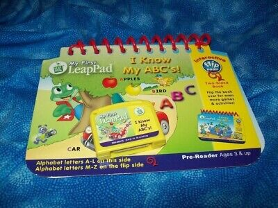 Leap Frog My First LeapPad I KNOW MY ABC'S Book and Cartridge