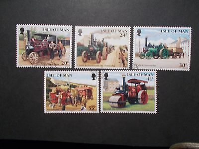 Isle of Man 1995 Commemorative Stamps~Steam Engines~Very Fine Used Set~UK Seller