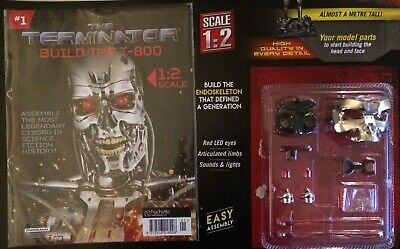 Build the Terminator T-800 Issue #1 1:2 Half scale 93 cm Tall