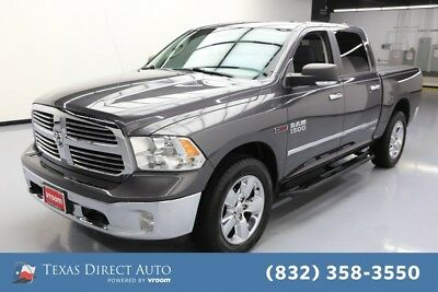 2016 Ram 1500 Big Horn Texas Direct Auto 2016 Big Horn Used Turbo 3L V6 24V Automatic 4WD Pickup Truck