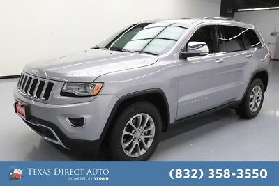 2015 Jeep Grand Cherokee Limited Texas Direct Auto 2015 Limited Used 3.6L V6 24V Automatic RWD SUV Premium