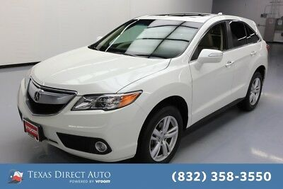 2015 Acura RDX  Texas Direct Auto 2015 Used 3.5L V6 24V Automatic FWD SUV Premium