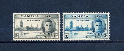 Gambia 144-5 MNH, Peace Issue, 1946