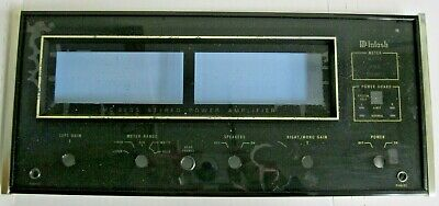 McIntosh 2255 Stereo Power Amplifier Faceplate Replacement Original Authentic