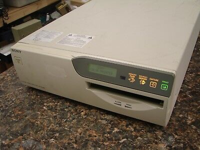 Sony UP-51MD A5 Color Video Printer RGB S-Video Composite Analog Medical Grade