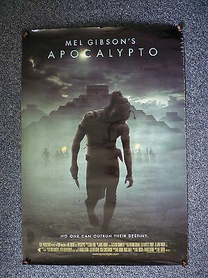 APOCALYPTO Original 2000s One Sheet Movie Poster Mel Gibson