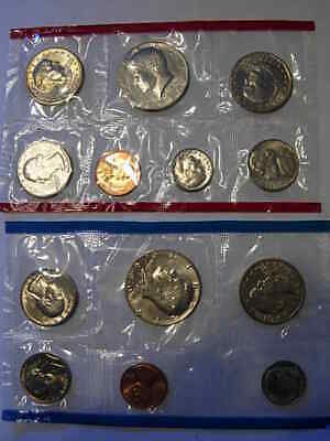 1980 U.S. Mint Uncirculated Coin Set P & D 13 coins including S SBA dollar