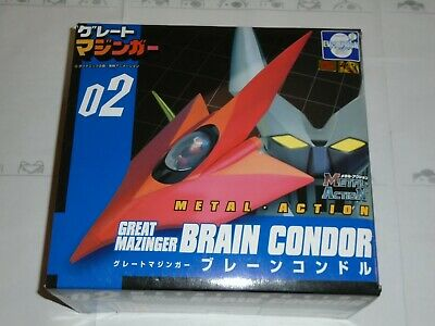 02 METAL ACTION GREAT MAZINGER BRAIN CONDOR - EVOLUTION TOY - oggetto USATO USED