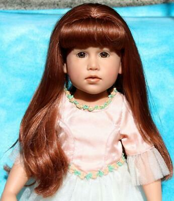 7282e6233be1 GOTZ DOLL Marked   305 16 Red Hair