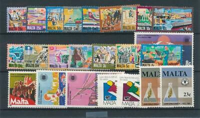 [15565] Malta : Good Lot of Very Fine MNH Stamps