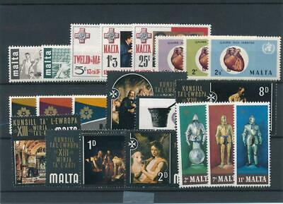 [15571] Malta : Good Lot of Very Fine MNH Stamps