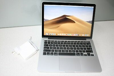 "Apple MacBook Pro 13"" Early 2015 i5 2.7Ghz 8GB 256GB SSD RETINA A1502 MOJAVE"