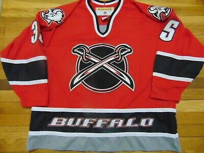 sports shoes b62bf 9dc72 VINTAGE KOHO NHL Buffalo Sabres #35 Red Jersey Size 2Xl