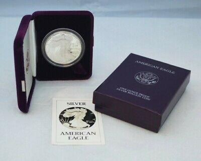 1986 American Silver Eagle 1 oz Proof Coin - OGP
