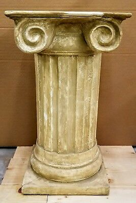 Classic Greek Roman Column Pedestal Ionic Square Style Fluted Home Decor 29