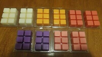 HANDMADE NATURAL SOY WICK LESS WAX TART MELTS 3+ oz MENS DESIGNER SCENT TYPES