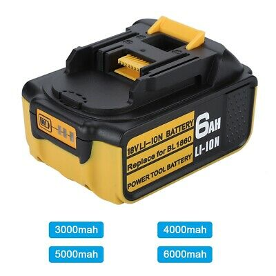 3000mAh 18V for Makita Replacement Battery Li-ion BL1830 BL1840 BL1850 BL1860 CO