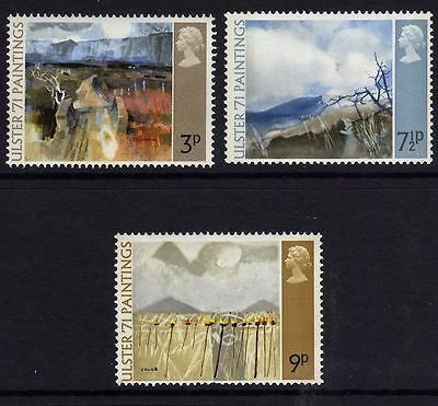 GB 1971 Commemorative Stamps~Ulster~Unmounted Mint Set~UK Seller