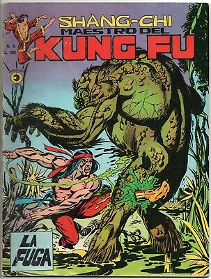 SHANG CHI corno 5 LA FUGA shang-chi maestro kung fu man thing sons of the tiger