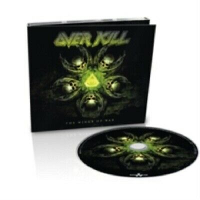 Overkill The Wings of War Digipack (Limited Edition) New CD