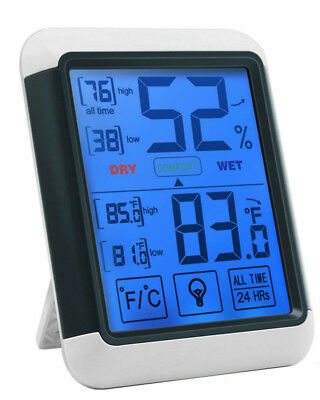 Digital Hygrometer Indoor Thermometer Humidity Monitor with Temperature Humidity