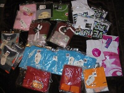 Job Lot  25 x Cartoon Network Childs Clothing Boys&Girls Large RRP Great Variety