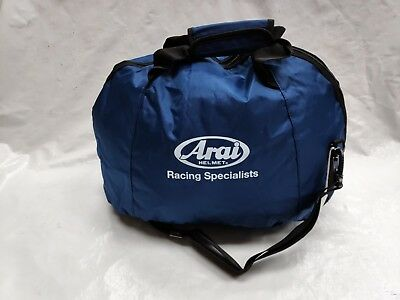 Arai Helmet Bag Motorcycle Car Racing Motocross Fleece Lined Simpson Large Bell