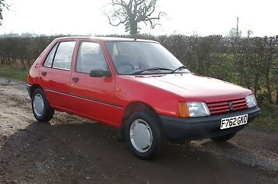 Peugeot 205 GR 1360 F Reg 1989 Time Warp Condition  Full MOT