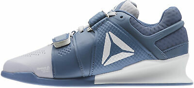 Reebok Legacy Lifter Womens Weightlifting Shoes Blue Bodybuilding Boots Gym