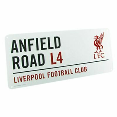 Liverpool Fc Anfield Road Metal Street Sign New Official Room Recor