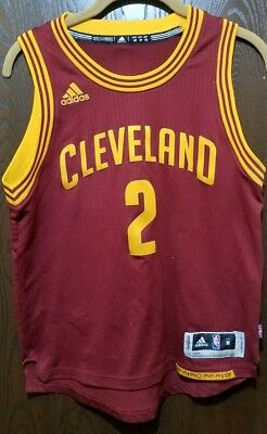 d36e70998 Adidas KYRIE IRVING Cleveland Cavaliers  2 Basketball Jersey Youth Medium  10-12