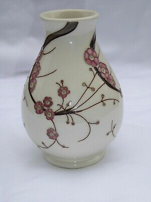 Moorcroft Very Pretty Small Vase in a Spring Design C 2009