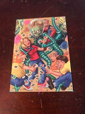 2002 Mars Attacks Willy Nilly In Philly Non-Sports Card Show Promo # 1 Of 2!